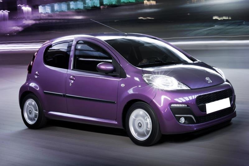 Peugeot 107 Auto - Trust Rent A Car Chania